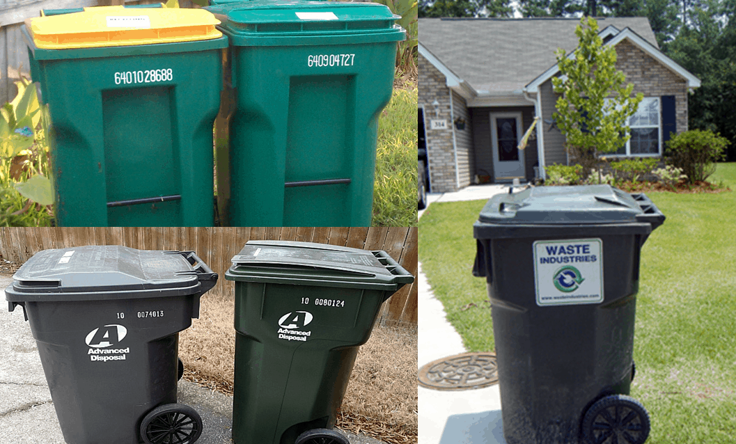 HOA Trash Can Violation